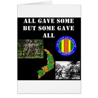 Vietnam Remembrance Card