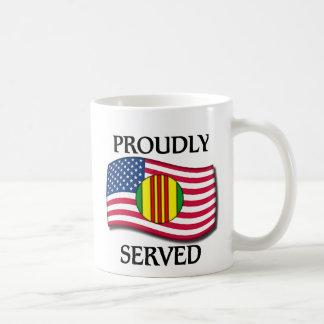 Vietnam Service Classic White Coffee Mug