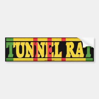 Vietnam Service Ribbon Tunnel Rat Bumper Sticker