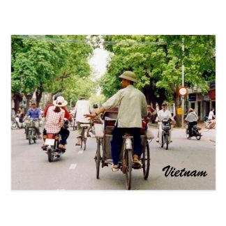 vietnam streets postcard
