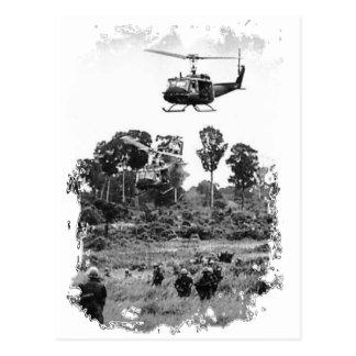 Vietnam Troops Postcard