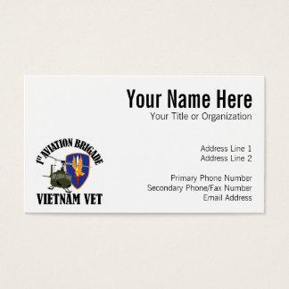 Vietnam Vet - 1st AVN BDE UH-1 Business Card
