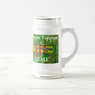 Vietnam Vet Army ws/2 Beer Stein