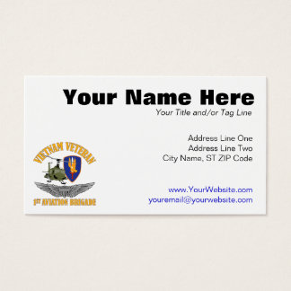 Vietnam Vet Aviator Wings Business Card
