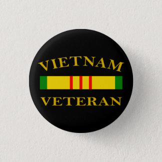 Vietnam Veteran 1 Inch Round Button