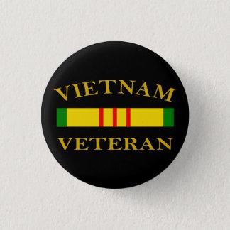Vietnam Veteran 1 Inch Round Button