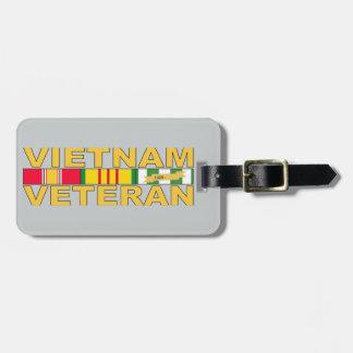 Vietnam Veteran Luggage Tag