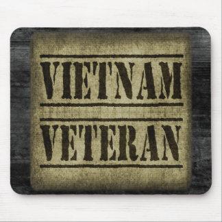Vietnam Veteran Military Mouse Pad