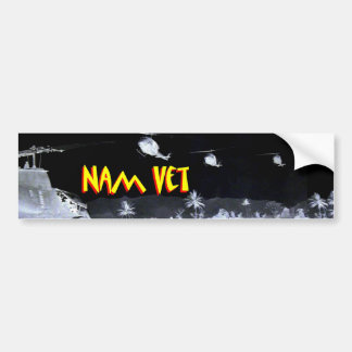 Vietnam Veteran - Nam Vet 1 Bumper Sticker