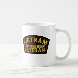 VIETNAM Veteran Patch Coffee Mugs