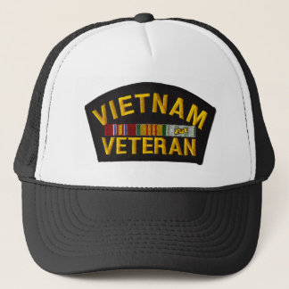 Vietnam Veteran Patch on Hat