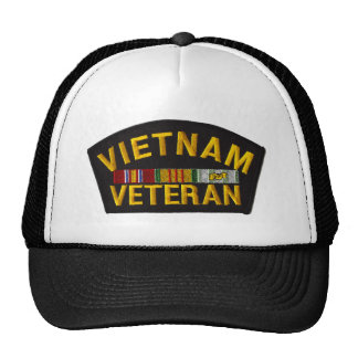 Vietnam Veteran Patch on Hat