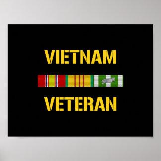 Vietnam Veteran Ribbon Bar Poster