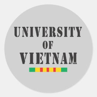 Vietnam veteran stencil sticker