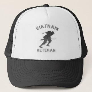 Vietnam Veteran Warrior Trucker Hat