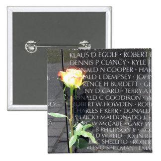 vietnam veterans memorial 2 inch square button
