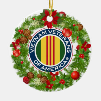 Vietnam Veterans of America Christmas Ornament