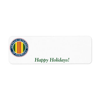Vietnam Veterans of America Holiday Label #2 Return Address Label