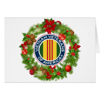 Vietnam Veterans of America Wreath Christmas Card