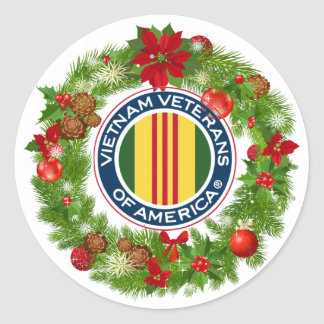 Vietnam Veterans of America Wreath Sticker