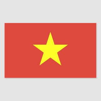 Vietnam/Vietnamese Flag Sticker