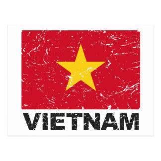 Vietnam Vintage Flag Post Cards