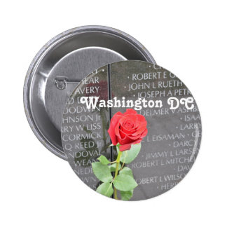 Vietnam Wall Memorial Button