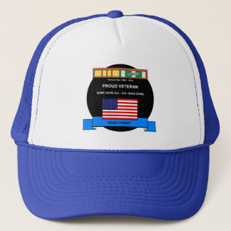 Vietnam War Veteran - Never Forget Trucker Hat