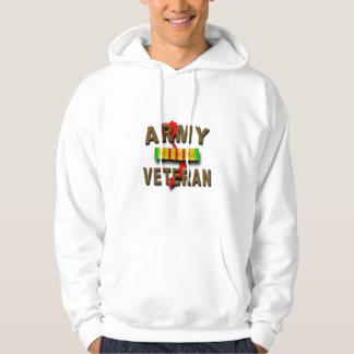 Vietnam War Veteran Service Ribbon, ARMY Sweatshirts