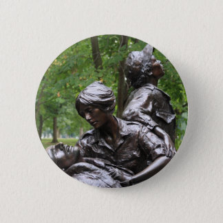 Vietnam Womens Memorial 2 Inch Round Button
