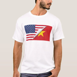 Vietnamese American Flag T-Shirt