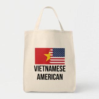 Vietnamese American Flag Tote Bag