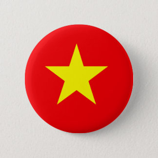 Vietnamese Flag T-shirts and Gifts 2 Inch Round Button