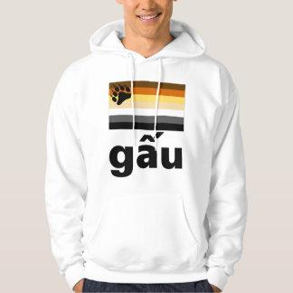 Vietnamese (gấu)  Gay Bear Pride Flag Hoodie