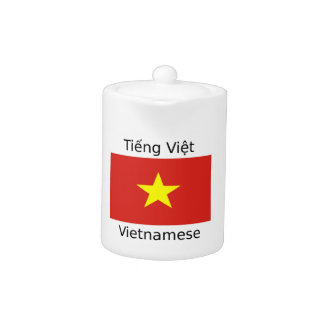 Vietnamese Language and Vietnam Flag Design