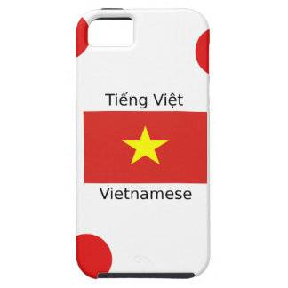 Vietnamese Language and Vietnam Flag Design iPhone 5 Cover