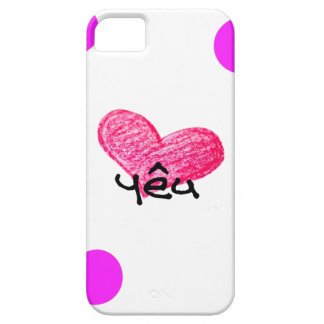 Vietnamese Language of Love Design Case For The iPhone 5