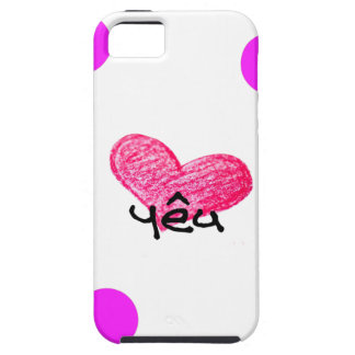 Vietnamese Language of Love Design iPhone 5 Case