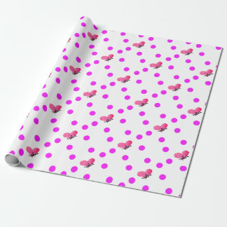 Vietnamese Language of Love Design Wrapping Paper