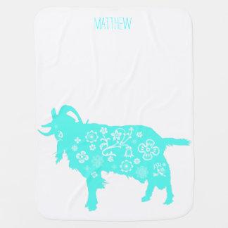 Vietnamese Lunar Goat New Year Baby Blanket