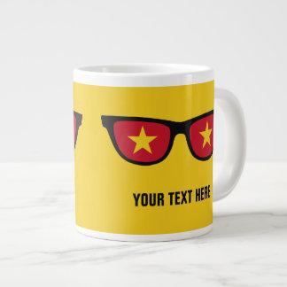 Vietnamese Shades custom mugs Jumbo Mug