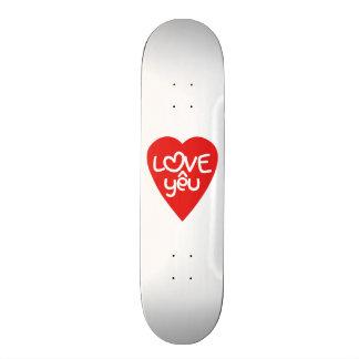 Vietnamese Valentine ♥ Love Yêu ♥ Asian Wordplay Skate Board Decks