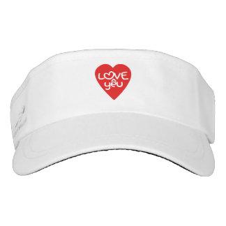 Vietnamese Valentine ♥ Love Yêu ♥ Asian Wordplay Visor