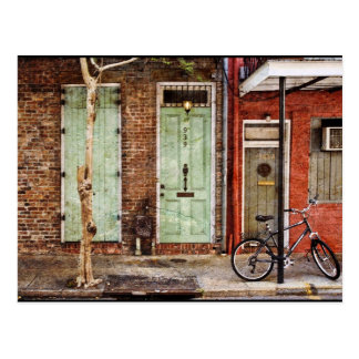 Vieux Carre Doorways Postcard