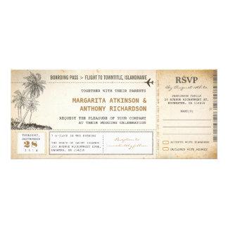 vieux invitations de mariage de vol de carte d'emb