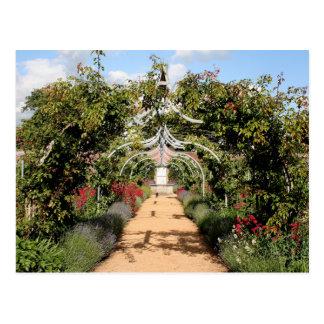 Vieux jardin anglais carte postale