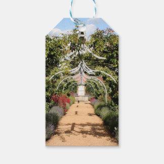 Vieux jardin anglais étiquettes-cadeau