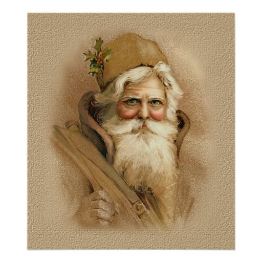 Vieux Monde Père Noël 2 Posters