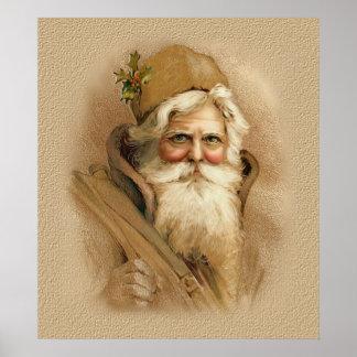 Vieux Monde Père Noël 2 Poster