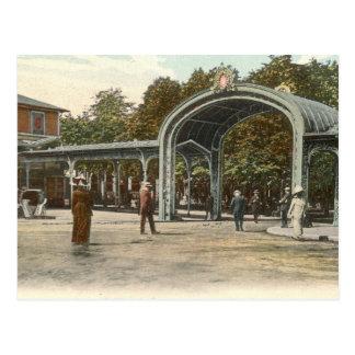 Vieux Parc, Vichy, France Vintage Postcard